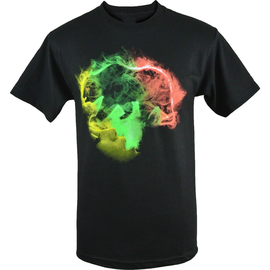 Smoking Rasta California Bear T-Shirt