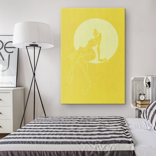 YELLOW | canvas print