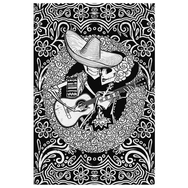 SERENATA | BLACK | canvas print