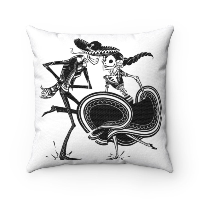 ZAPATEADO | WHITE | throw pillow case