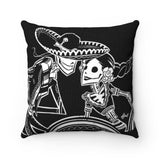 ZAPATEADO | BLACK | throw pillow