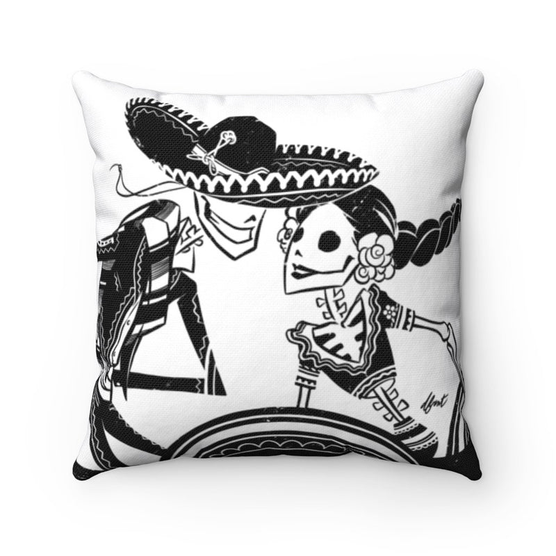 ZAPATEADO | WHITE | throw pillow