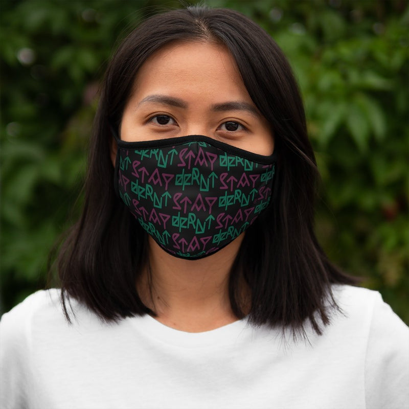 STAY DFRNT DECODED | BPG | fitted face mask