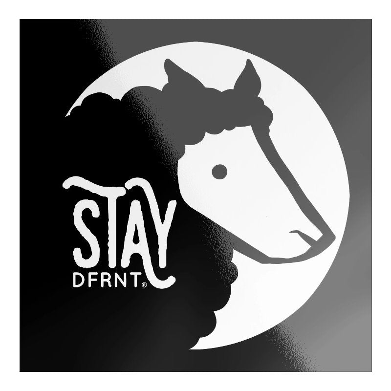 STAY DFRNT BLACK SHEEP | S | premium sticker