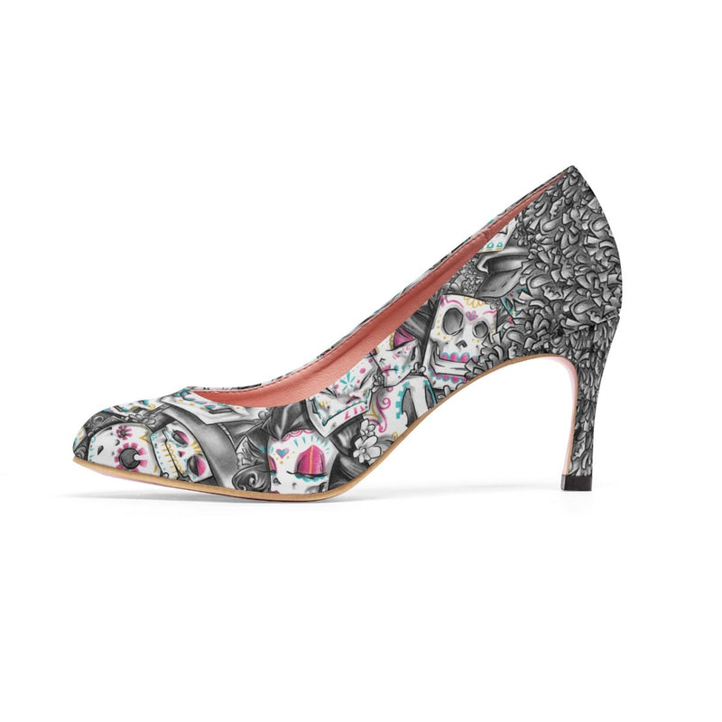 dfrnt DAY OF THE DEAD | COLOR | high heels