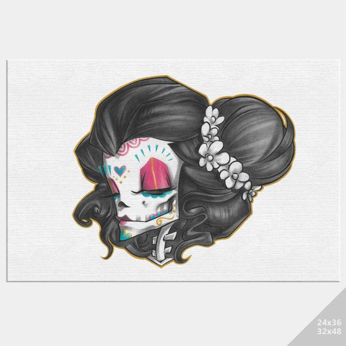 MADAME MUERTE | COLOR | canvas print