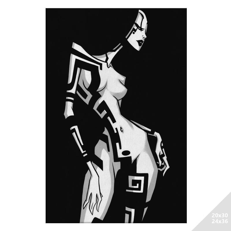TATTOO GIRL TWO | CANVAS PRINT