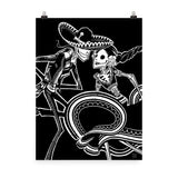 ZAPATEADO | BLACK | art print