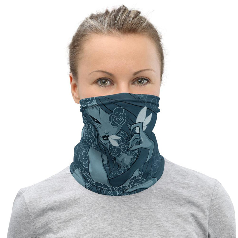 FLOWER BED ONE | neck gaiter