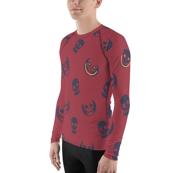 dfrnt HAPPY SKULL | BOLD | mens rash guard