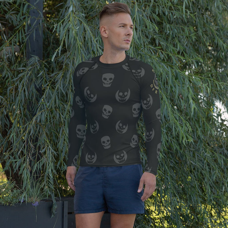 dfrnt HAPPY SKULL | mens rash guard