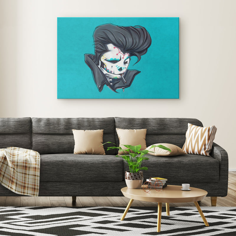 SLICK | PAINT | canvas print