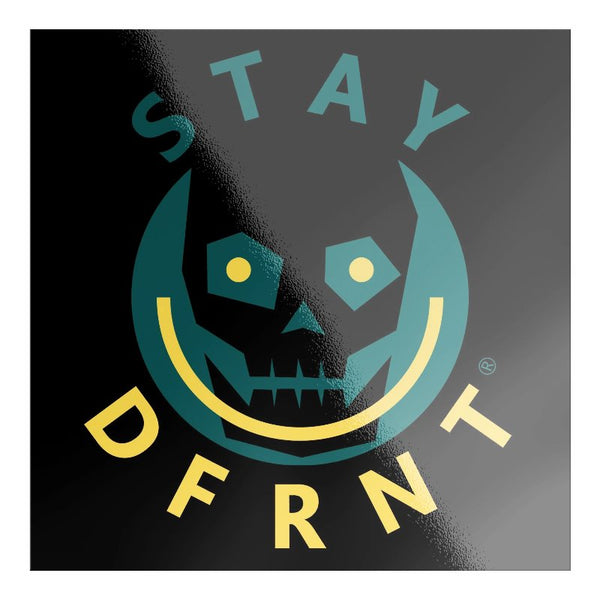 DFRNT HAPPY SKULL | S | premium sticker
