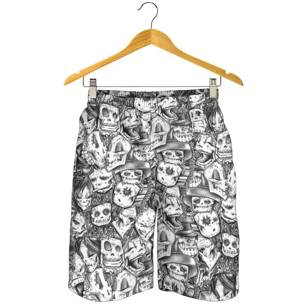 dfrnt CALACAS | GRAPHITE | mens shorts