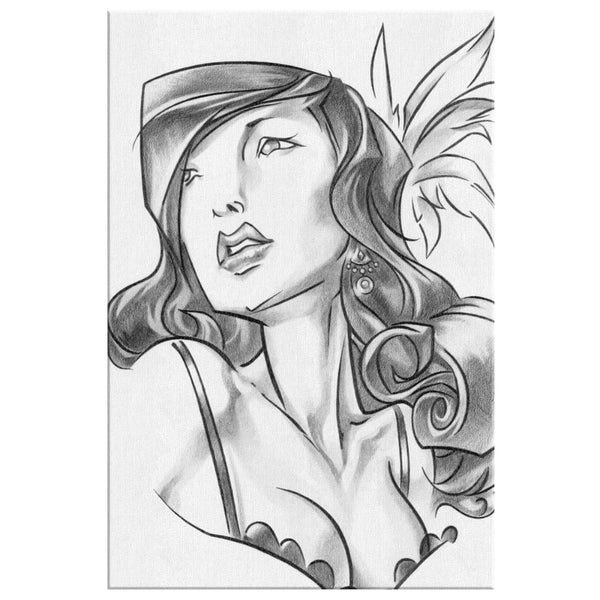 LEAD BURLESQUE | canvas print