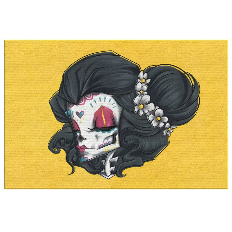 MADAME MUERTE | PAINT | canvas print
