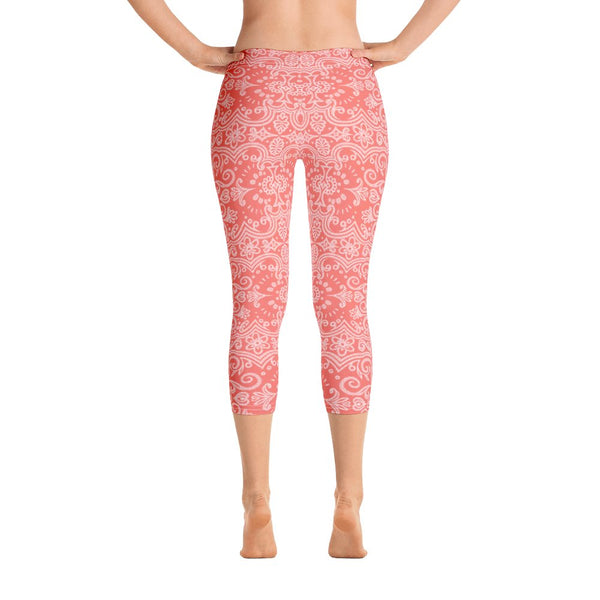dfrnt LACE | capri leggings