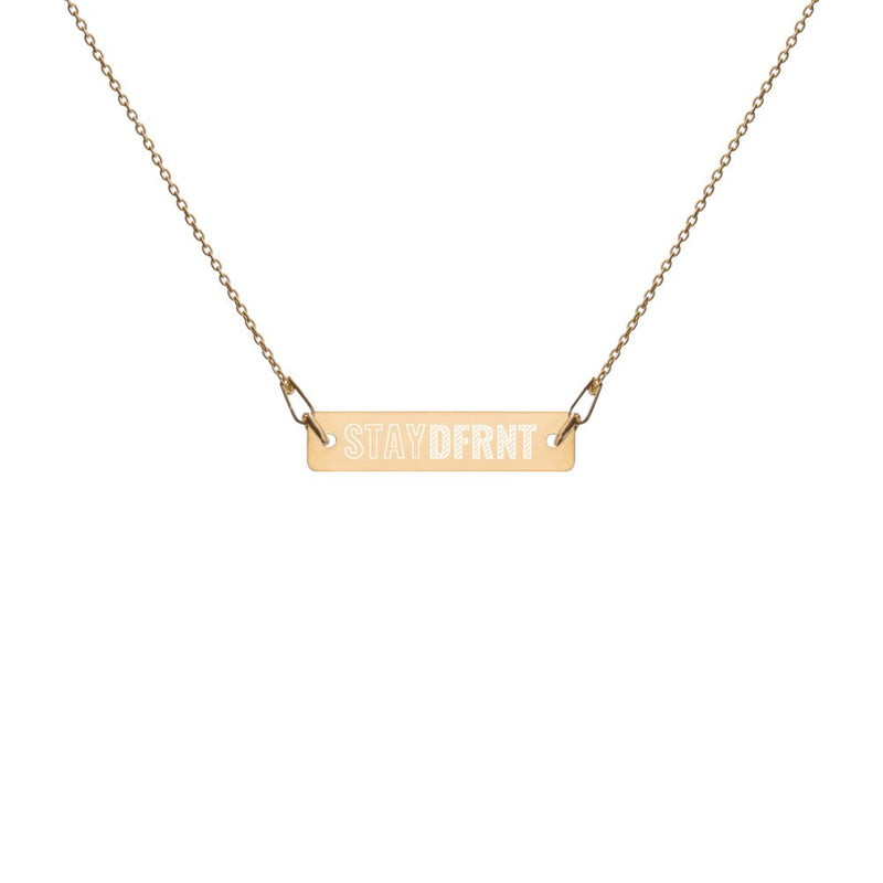 STAY DFRNT | OUTLINE | chain necklace