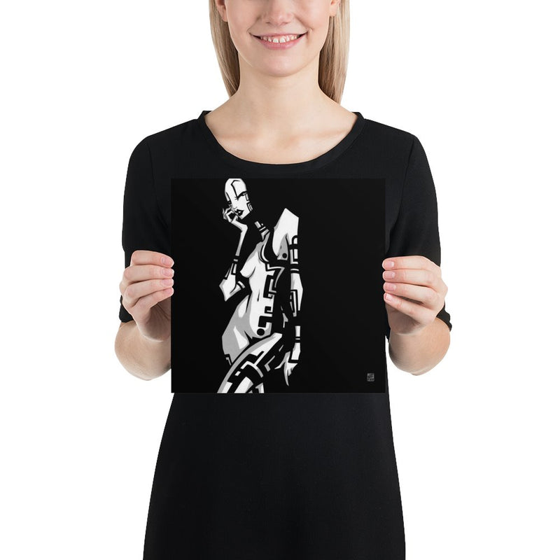 TATTOO GIRL ONE | art print