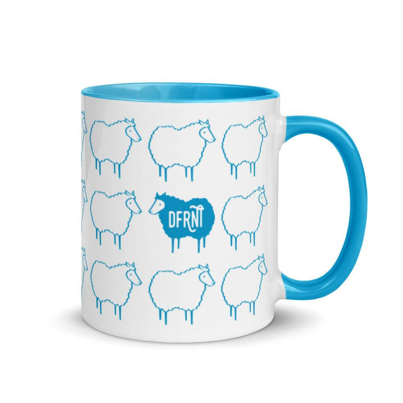 STAND OUT BLACK SHEEP | accent mug
