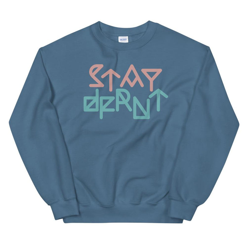 STAY DFRNT DECODED | relaxed fit sweatshirt