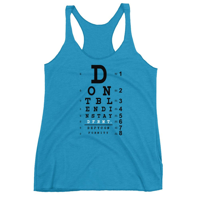 DONT BLEND IN | racerback tank