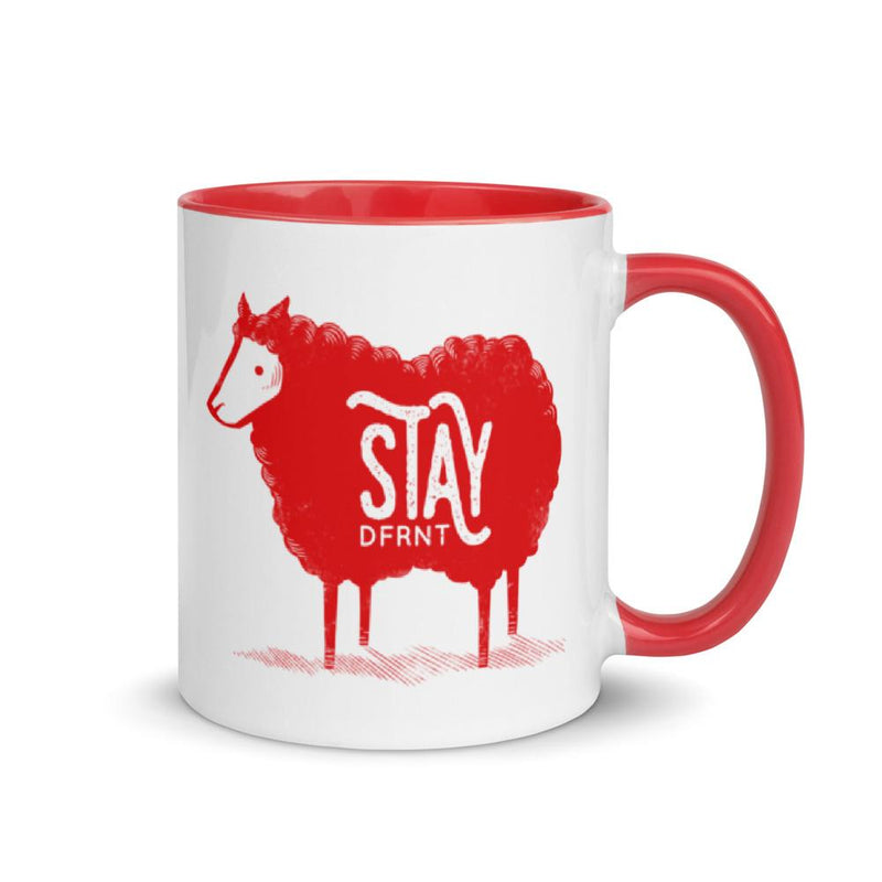 STAY DFRNT BLACK SHEEP | accent mug