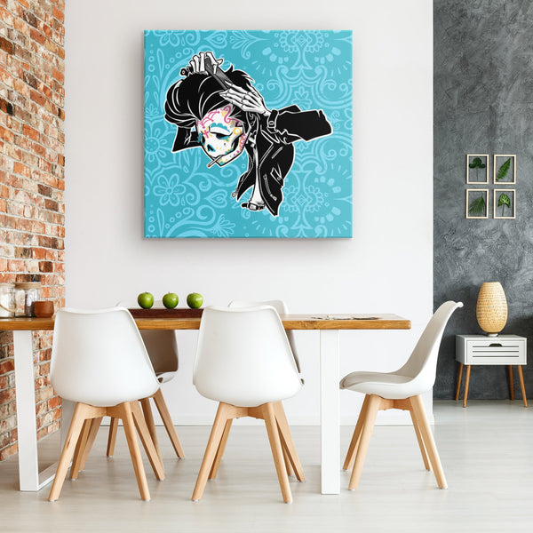 SLICK BACK | COLOR | canvas print