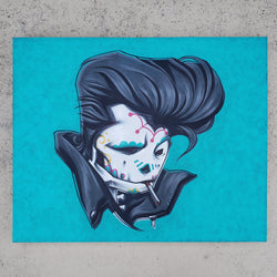 SLICK by dfrnt | original painting