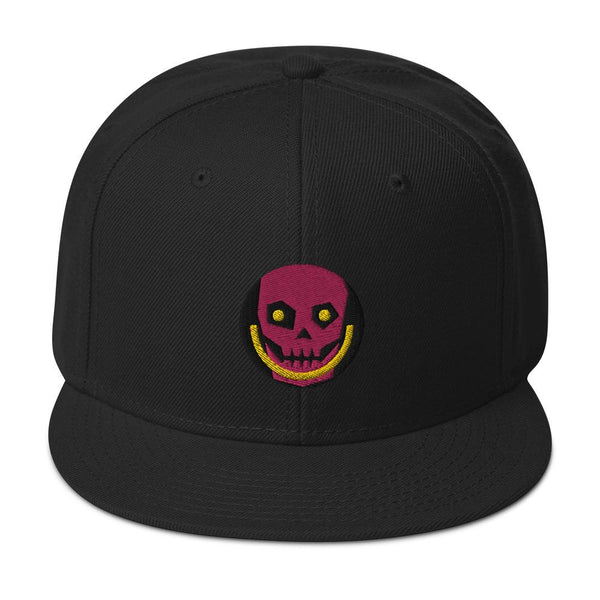 HAPPY SKULL | high snapback