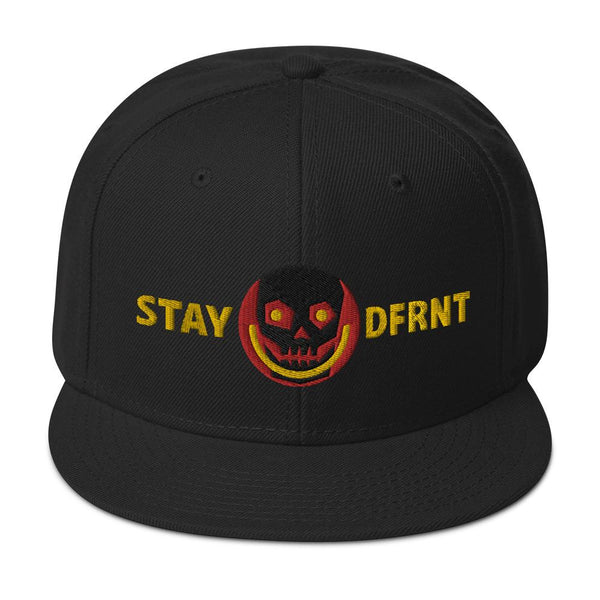 STAY DFRNT SKULL | high snapback
