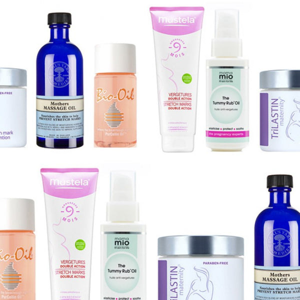 Testing 6 Top selling stretch mark creams