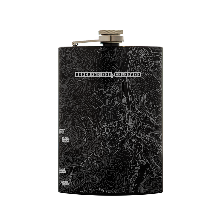 Black Flask - Breckenridge, Colorado Map