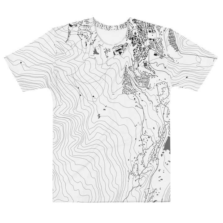 All Over Tshirt - Breckenridge, Colorado Map