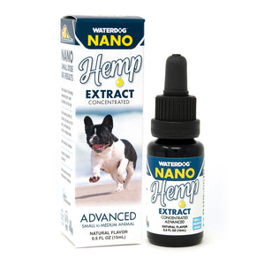 Waterdog Nano Concentrated Hemp CBD Extract for Small Dogs