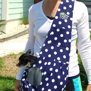 Waterdog Dog Carrier - Polka Dot