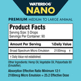 Waterdog Nano Concentrated Hemp Extract for Dogs