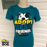 "Women's ""Adopt Your Best Friend"" Pet Adoption T-shirt"