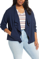 Caslon Draped Jacket The Curvy Shop