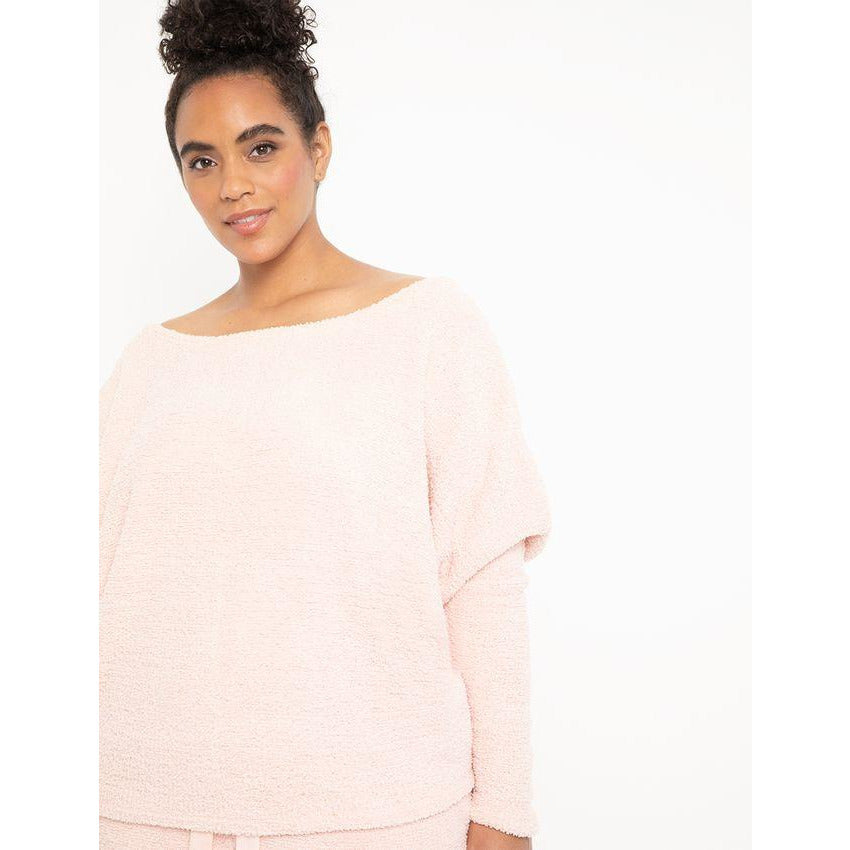 Eloquii Slouchy Off the Shoulder Top