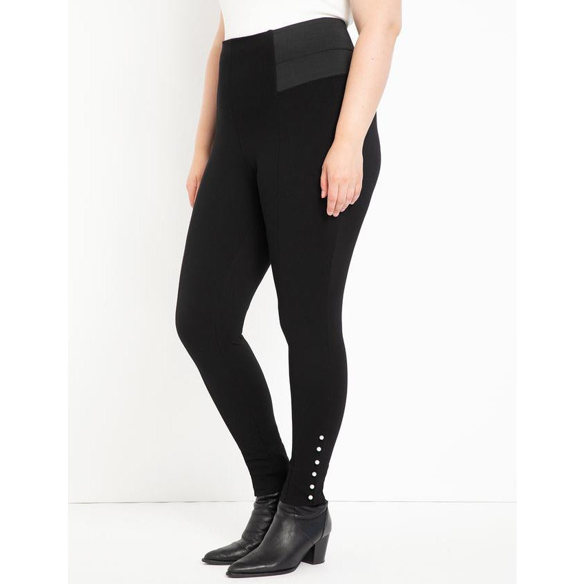 Eloquii Miracle Flawless Legging with Pearl Detail