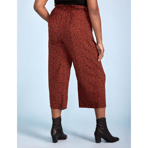 Eloquii Elements Self Tie Wide Leg Pant
