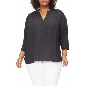 NYDJ Curves 360 Perfect Blouse