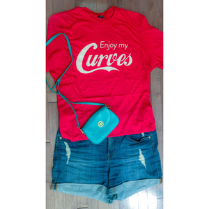 Curvy Classic Enjoy My Curves Tee