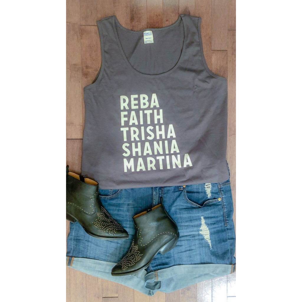 Curvy Classic 90's Country Queens Tank