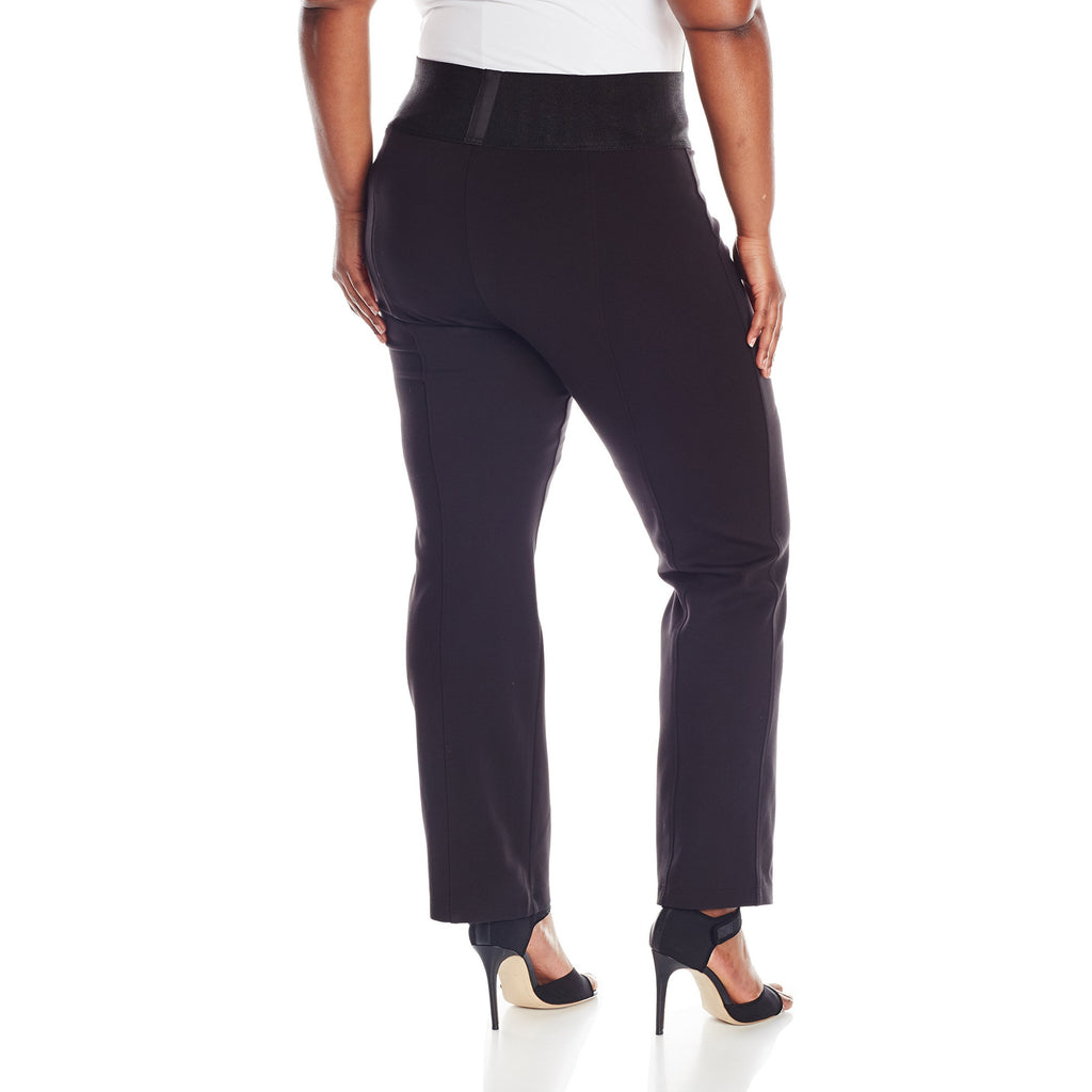 Calvin Klein Power Stretch Wide Waist Straight Pant