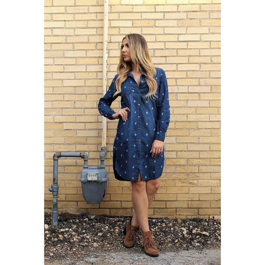 Arizona Denim Shirt Dress