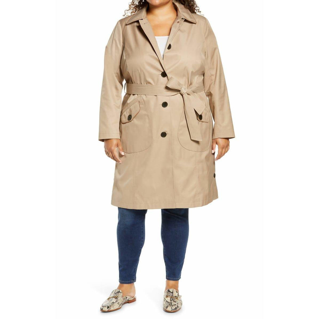 Sam Edelman Water Repellent Trench Coat