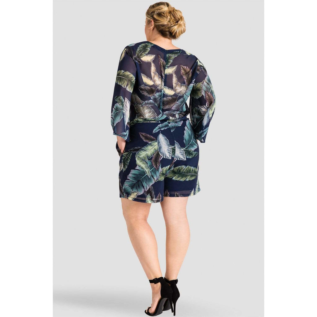 Standards & Practices Tropical Print Romper