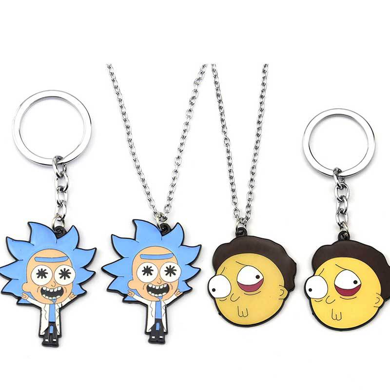 Rick and Morty Necklaces - YOUTAAS